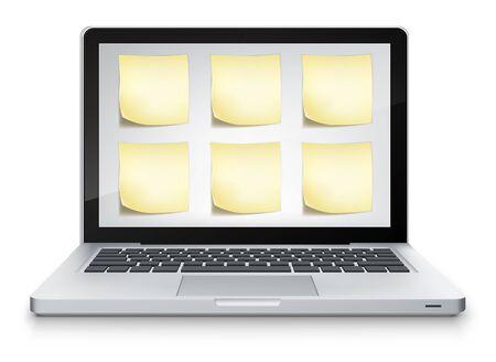 powerbook: Vector Laptop  Illustration