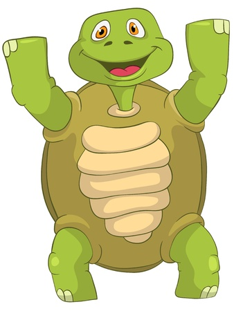 Funny Turtle  Winner  Stock Photo - 13533765