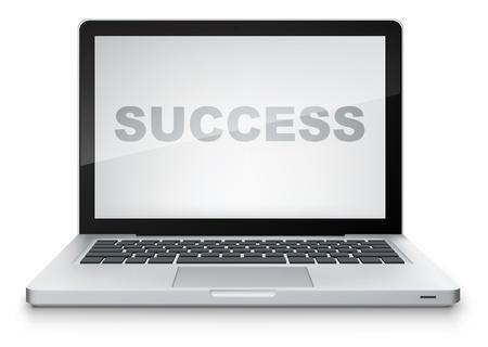 Laptop Stock Vector - 13533945