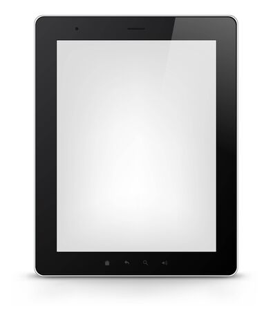 blank tablet: Tablet PC Illustration