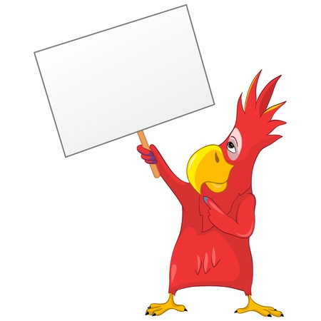 Funny Parrot Stock Photo - 13640765