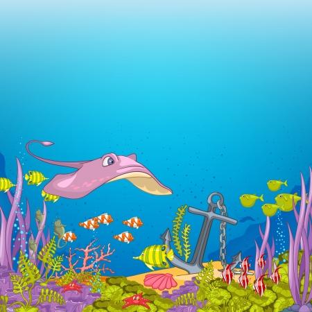 海水中漫画