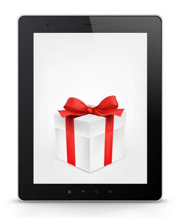 palmtop: Tablet PC  Vector EPS 10