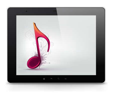 Tablet PC  Vector EPS 10 Stock Vector - 13900895