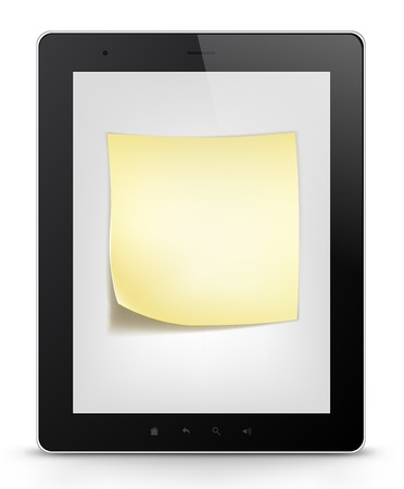 Tablet PC  Vector EPS 10