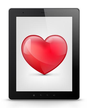 palmtop: Tablet PC Illustration