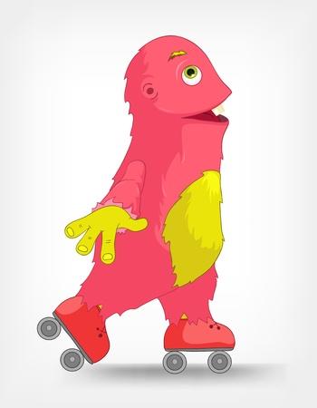 roller: Funny Monster  Roller