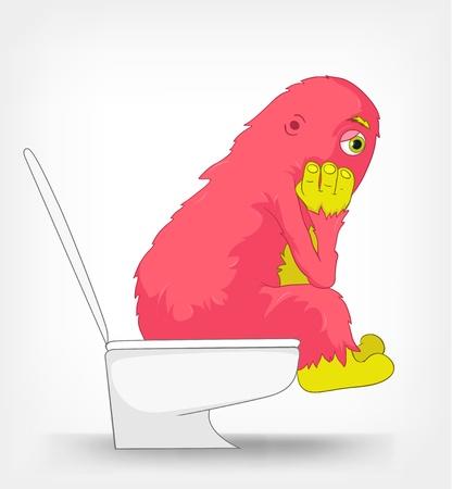 żartować: Funny Potwór WC