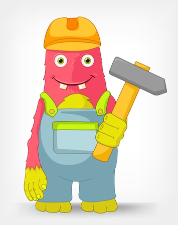 Mostro Contractor Divertente