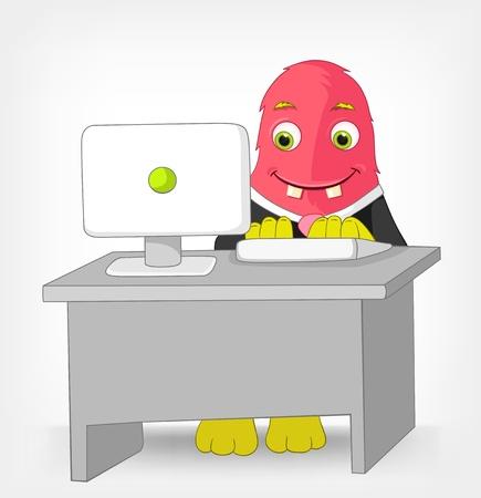 clerk: Funny Monster  Clerk