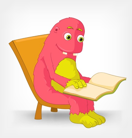 Funny Monster  Reading