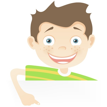 Cute Teenager Stock Vector - 14673999