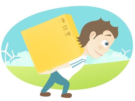 verhuis dozen: Leuke Tiener