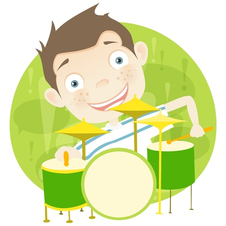 Cute Teenager Stock Vector - 15513160