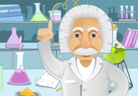 Idée Einstein Illustration