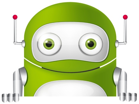 Cute Robot Stock Vector - 16065741