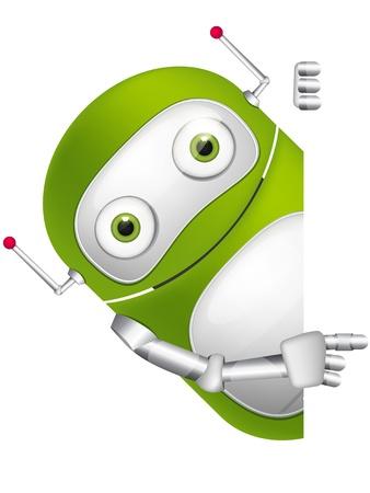 Cute Robot Фото со стока - 16065725