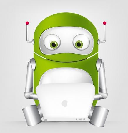 Cute Robot Фото со стока - 16065801