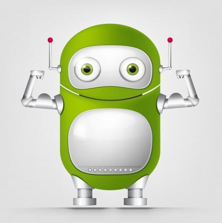 waist weight: Cute Robot