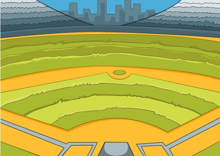 baseball diamond: Baseball Stadium