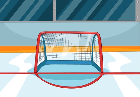 Hockey Rink Stock Vector - 16418964