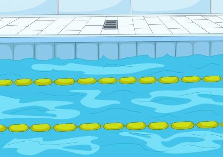 salud publica: Con piscina