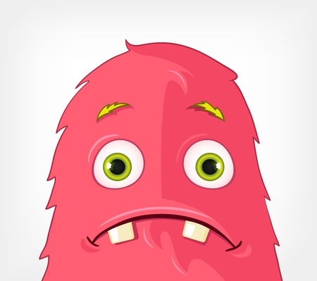 Funny Monster  Engry Stock Vector - 16605099