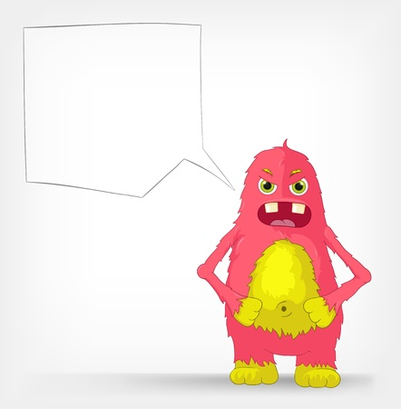 Funny Monster  Engry