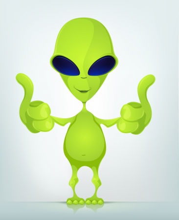 space: Funny Alien