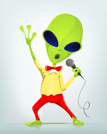 halloween party: Funny Alien