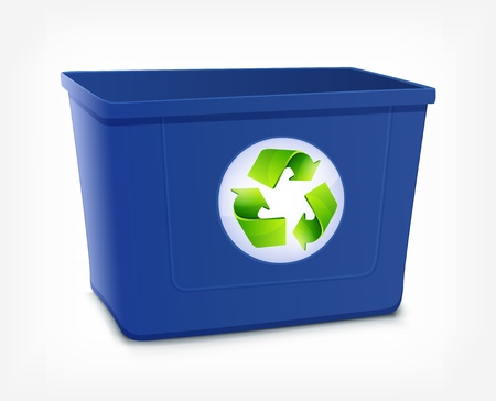 Recycle Bin Stock Vector - 16703038