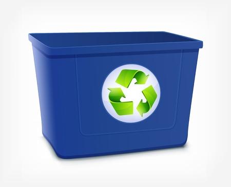 Recycle Bin Stock Vector - 16703038
