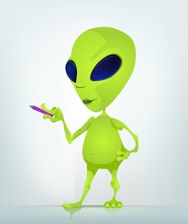 Alien Stock Vector - 16834249