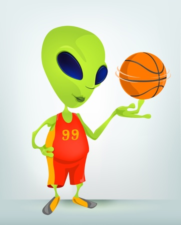 Alien Stock Vector - 16834254