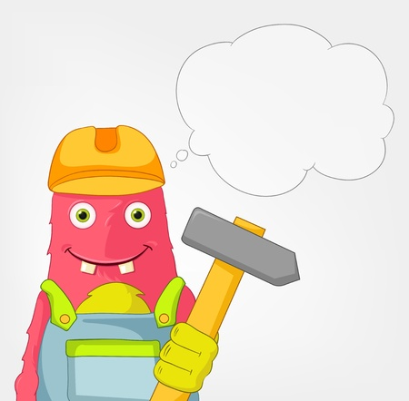 architect tools: Funny Monster  Contractor