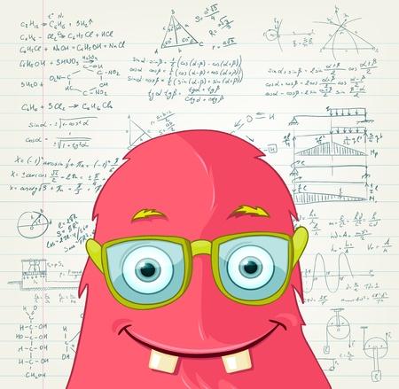 Monster Professor Stock Vector - 16918960