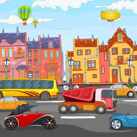 city building: City Cartoon