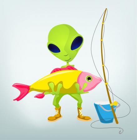 invade: Funny Alien