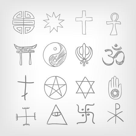 Religious symbolism Stock Vector - 17442034