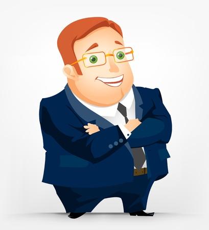 Fröhlich Chubby Man