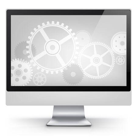 Computer Concept Stock Vector - 17677770