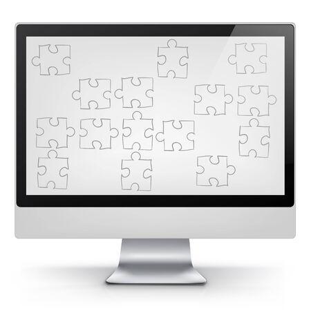 Computer Concept Stock Vector - 17677764