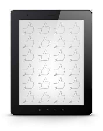 Digital Tablet Concept Stock Vector - 17677761