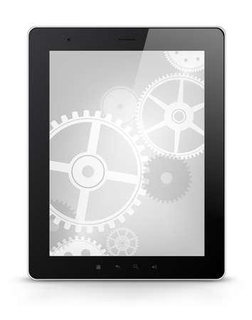 Digital Tablet Concept Stock Vector - 17677768