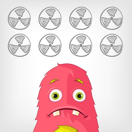 caution chemistry: Funny Monster