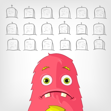 Funny Monster  Stock Vector - 17677800