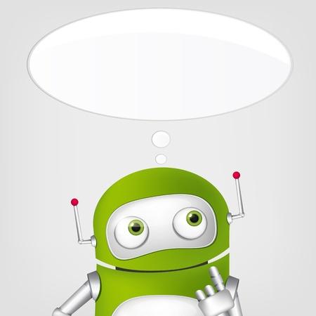 Cute Robot Stock Vector - 17977587