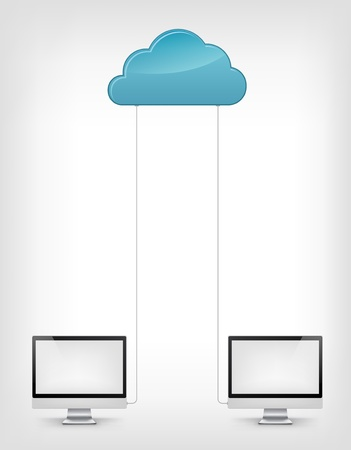 Cloud Service Stock Vector - 19454955