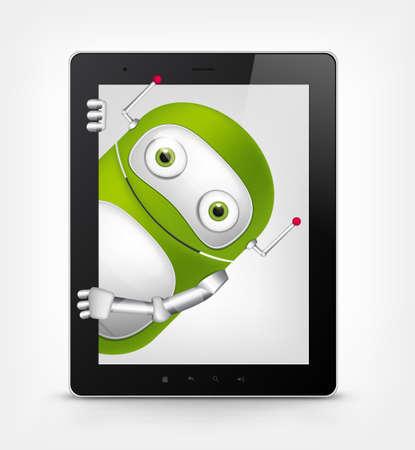palmtop: Green Robot