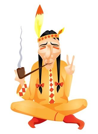 peace pipe: Aborigine